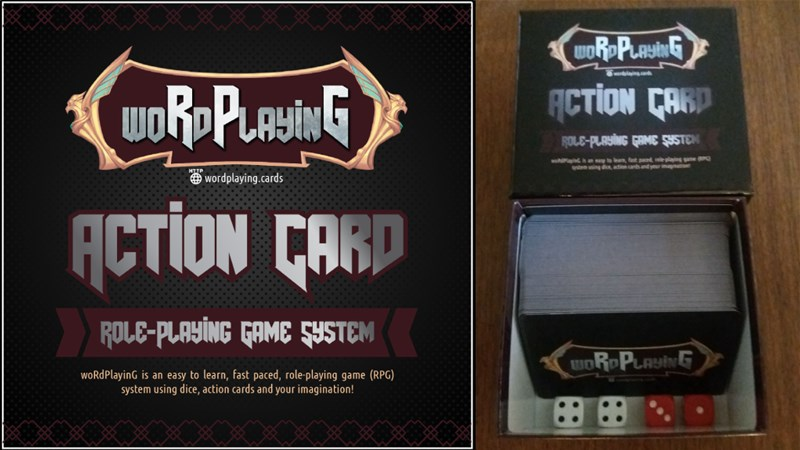 woRdPlayinG cards RPG Up On Kickstarter - Tabletop Gaming