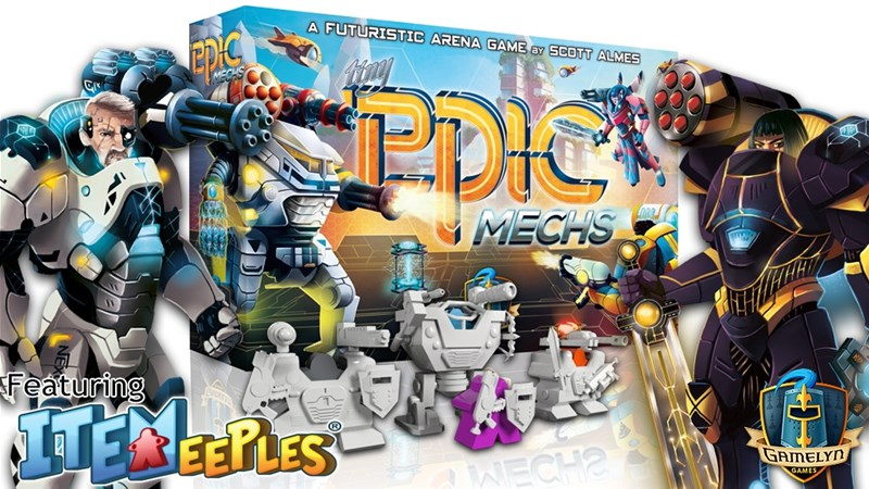 Gamelyn Games Launches Tiny Epic Mechs Kickstarter