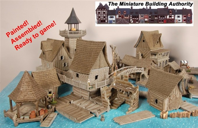 Miniature Building Authority - Tabletop Gaming News – TGN