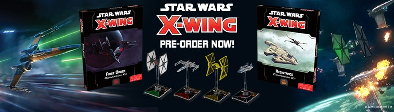 star wars x-wing (2nd edition) resistance conversion kit