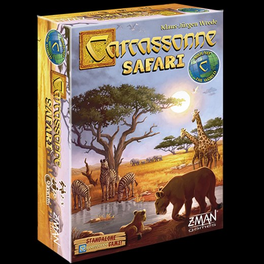 Z-Man Games Announces Carcassonne Safari - Tabletop Gaming News – TGN
