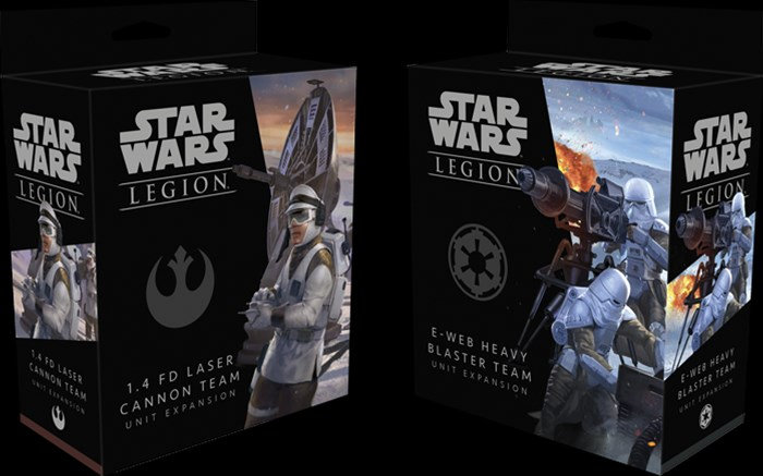 New Heavy Weapons Available For Star Wars: Legion - Tabletop Gaming