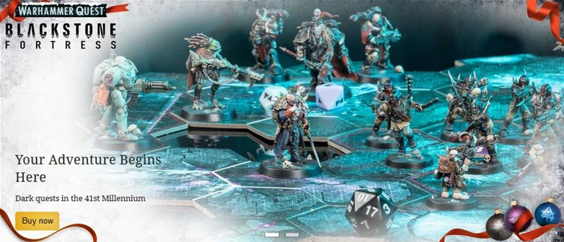 Games Workshop Taking Pre-Orders for Blackstone Fortress