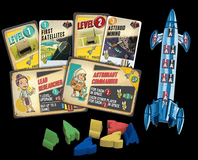 Z-Man Games Announces Lift Off Board Game - Tabletop Gaming