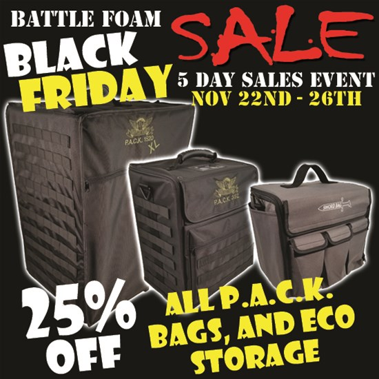 Protect Your Miniatures With Battle Foam S Biggest Sale Of The Year Tabletop Gaming News Tgn Ben williams 4 minute read april 4. protect your miniatures with battle