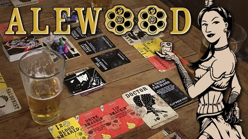 Alewood: The Bounty Hunting Drinking Game Up On Kickstarter