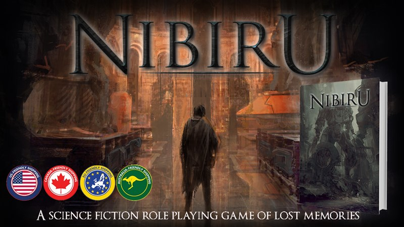 Nibiru Sci-Fi RPG Up On Kickstarter