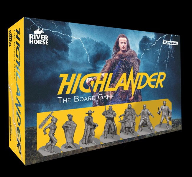 Highlander: the Board Game Now Available
