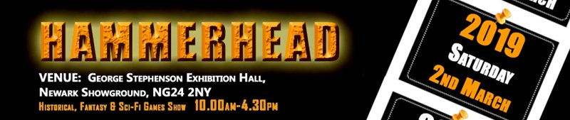 Hammerhead 2019 Coming To Newark Showgrounds In March Tabletop