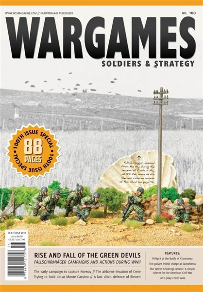 Wargames, Soldiers and Strategy Issue 100 Available To Pre-Order