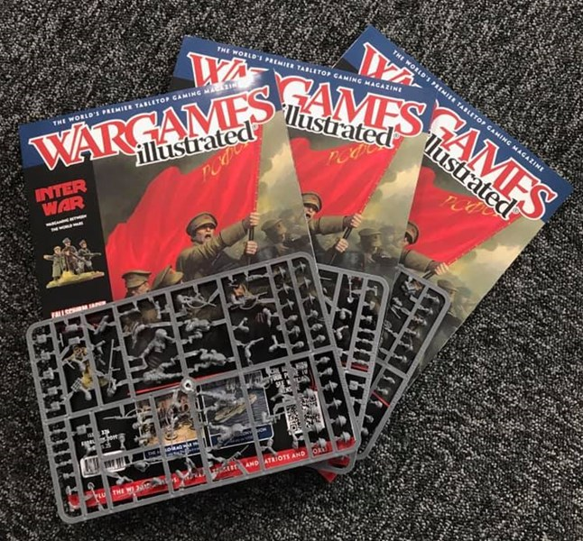 Latest Issue of Wargames Illustrated Now Available