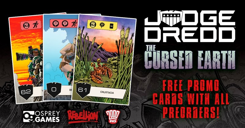 Osprey Publishing Taking Pre-orders For Judge Dredd: The Cursed Earth