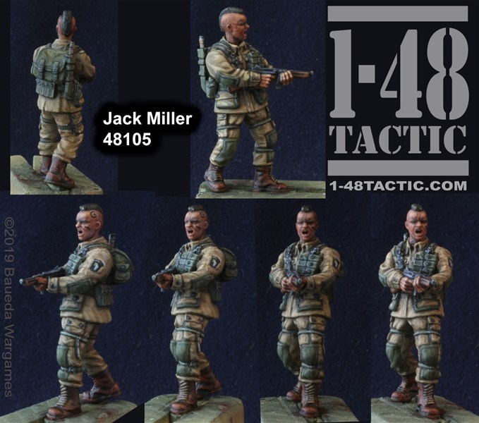 Jack Miller Character Available Now for 1-48Tactic