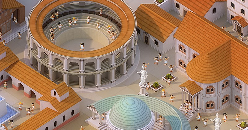 Z-Man Games Posts New The Great City of Rome Preview