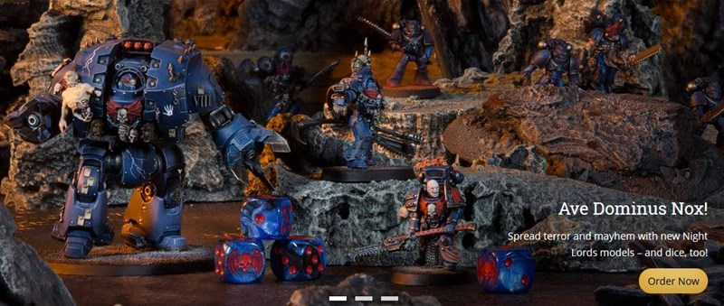 New Night Lords Available To Order From Forge World