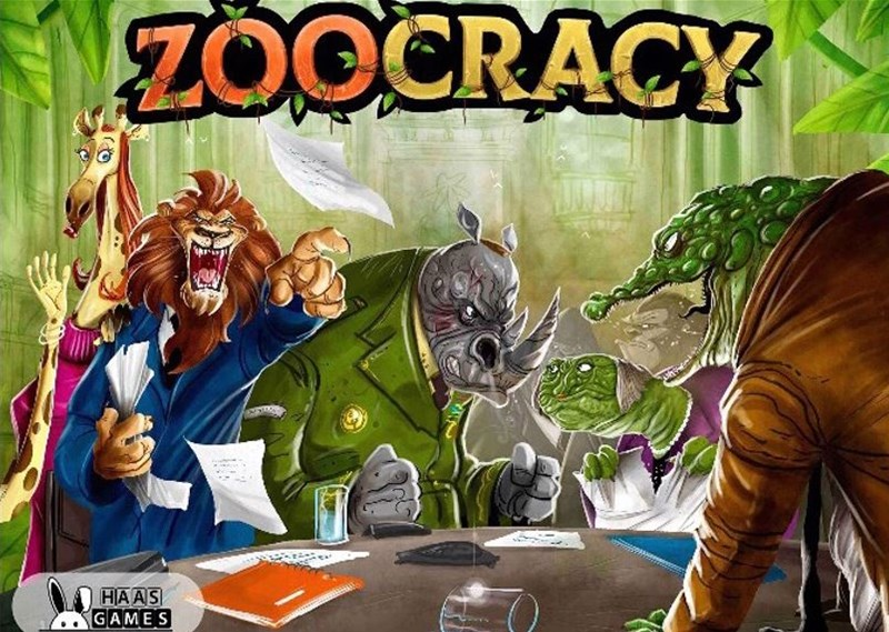 Haas Games Running Zoocracy Kickstarter