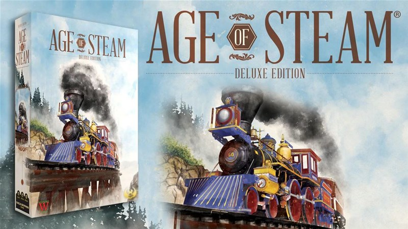 Age of Steam: Deluxe Edition Up On Kickstarter
