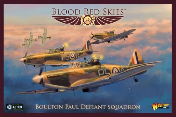 New Blood Red Skies Squadrons Available from Warlord Games