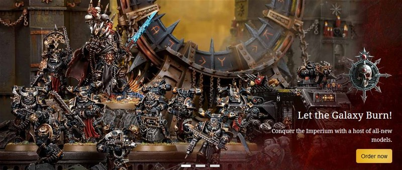New Chaos Book and Figures Available to Order From Games Workshop
