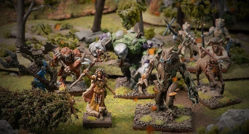 Forces of Nature Warband Set Available to Order from Mantic Games