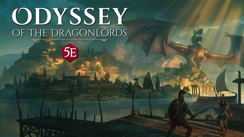 Odyssey of the Dragonlords Adventure Up On Kickstarter