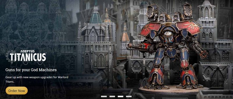 New Warlord Titan Available to Order from Forge World