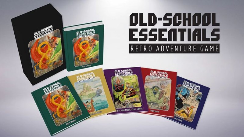 Old-School Essentials RPG Up On Kickstarter