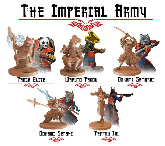 Ulfsark Games Previews Imperial Army For Taiyo Dynasties