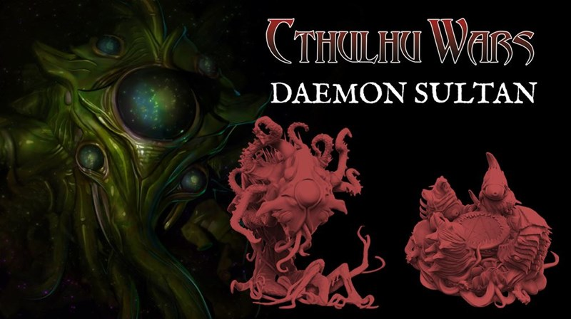 The Daemon Sultan Expansion for Cthulhu Wars Up On Kickstarter