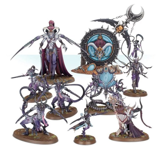 New Slaanesh Releases Available to Order From Games Workshop
