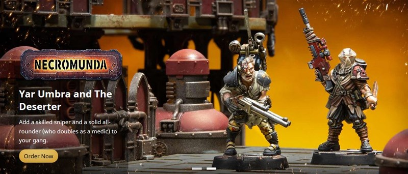 Forge World Taking Orders For Hired Guns: Yar Umbra & the Deserter