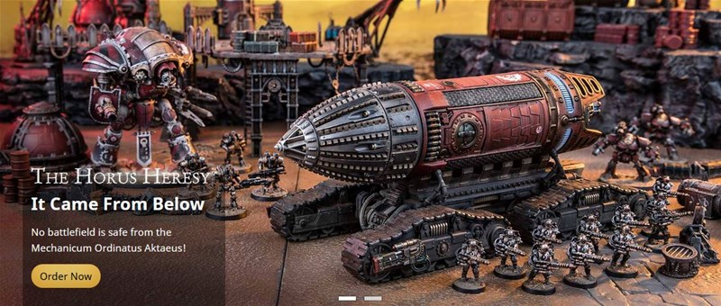 New 40k Transports Available to Order From Forge World