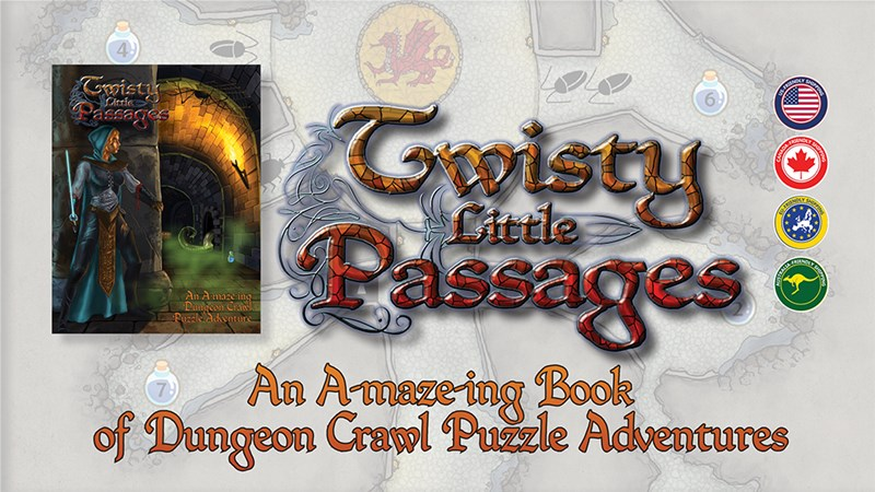 Twisty Little Passages Solo Puzzle Book Up On Kickstarter
