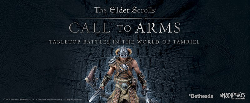 Modiphius Announces The Elder Scrolls: Call to Arms Miniatures Board Game
