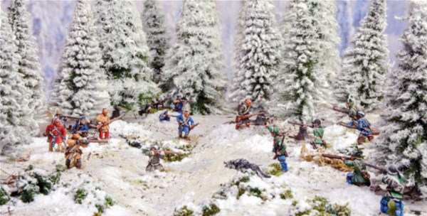 New Battle on Snowshoes French & Indian War Set Available From Warlord Games