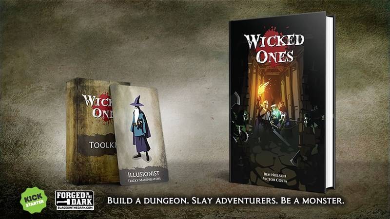 Wicked Ones RPG Up On Kickstarter