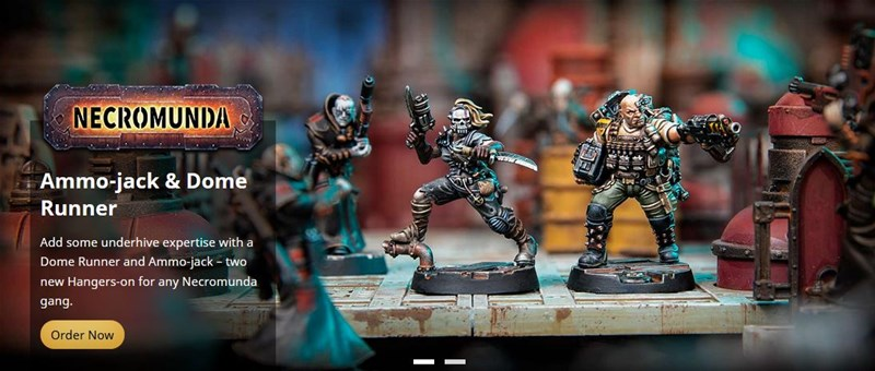 New Necromunda Accessories and Figures Available to Order From Forge World