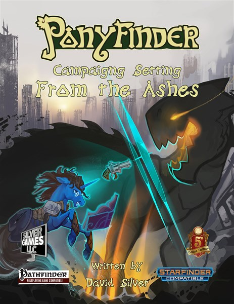 From the Ashes Setting Book Now Available For Ponyfinder