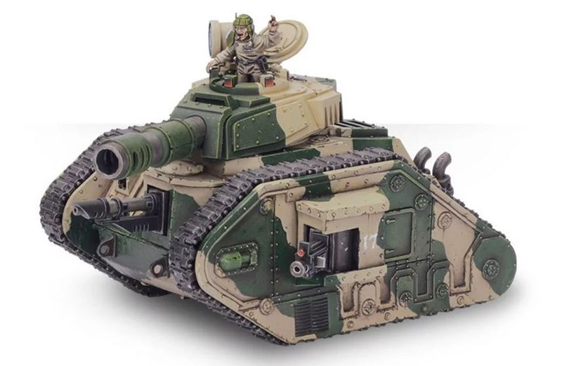 New Warhammer Underworlds Deck and Leman Russ Tank Available