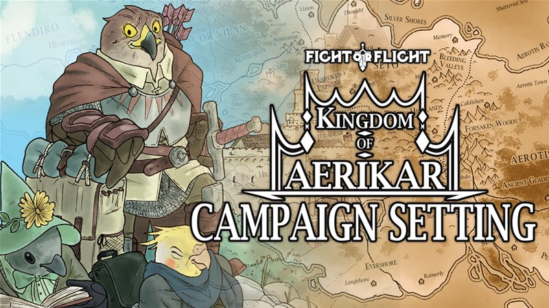 Fight or Flight 5th Edition Setting Book Up On Kickstarter