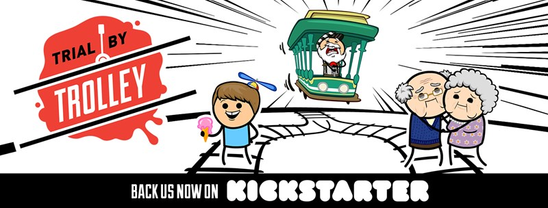 Cyanide and Happiness: Trial by Trolley Card Game Up On Kickstarter