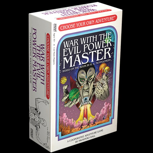 Z-Man Games Previews War With The Evil Power Master Choose Your Own Adventure Book