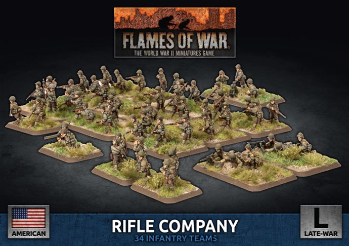 New D-Day Americans Available For Flames of War