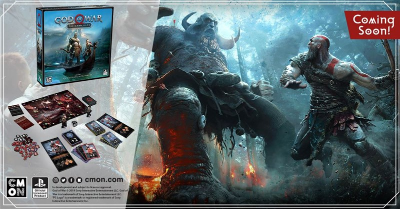 CMON Previews God of War: The Card Game