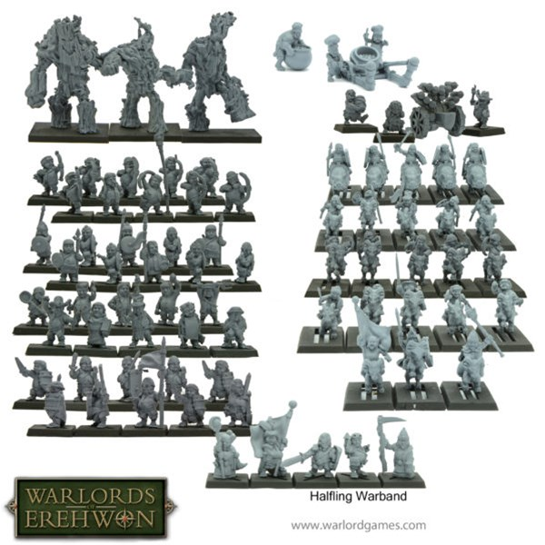 Warlord Game Taking Pre-Orders for Halfling Warband