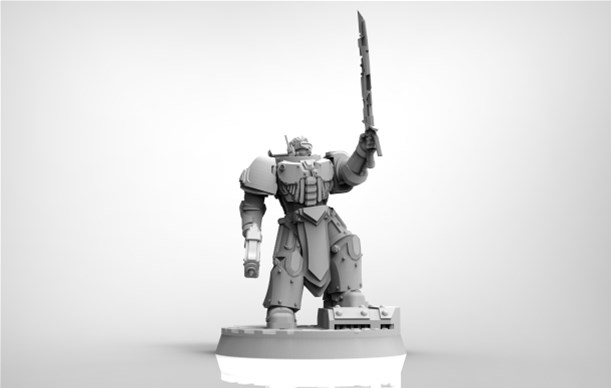 First Miniature Released From One Page Rules