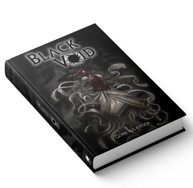 Black Void Dark Fantasy RPG Core Book Now Available From Modiphius