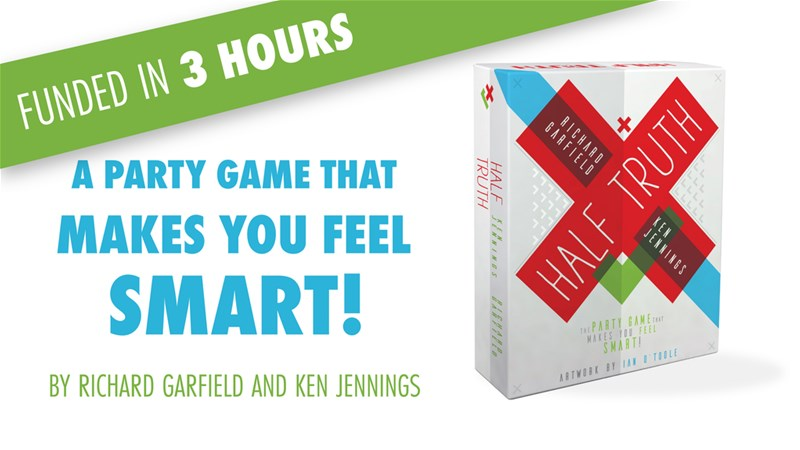Half Truth Party Board Game Up On Kickstarter