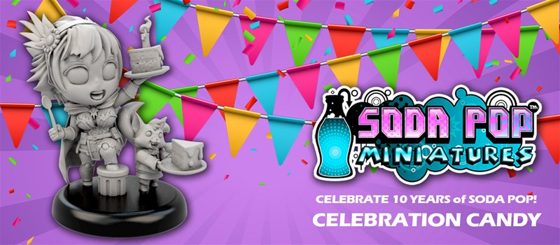 10 Year Anniversary Candy Miniature Available From Ninja Division