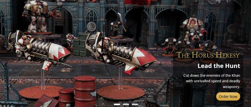 New 40k And LotR Releases Available to Order From Forge World